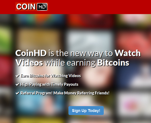 CoinHD - Get FREE Bitcoins for Watching Youtube Videos - Get More Views on Youtube